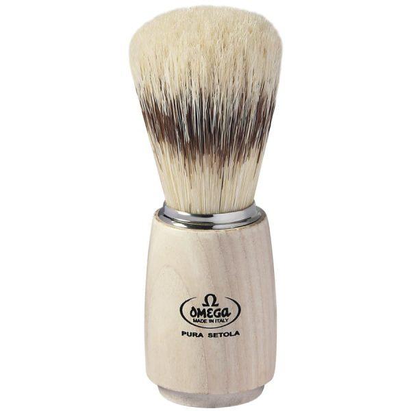 Omega 11711 Professionale Помазок для бритья, щетина кабана, 11,5 см