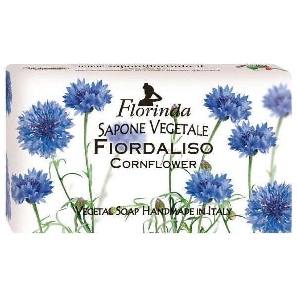 FLORINDA Весенние цветы Василек растительное мыло ручной работы 100 г