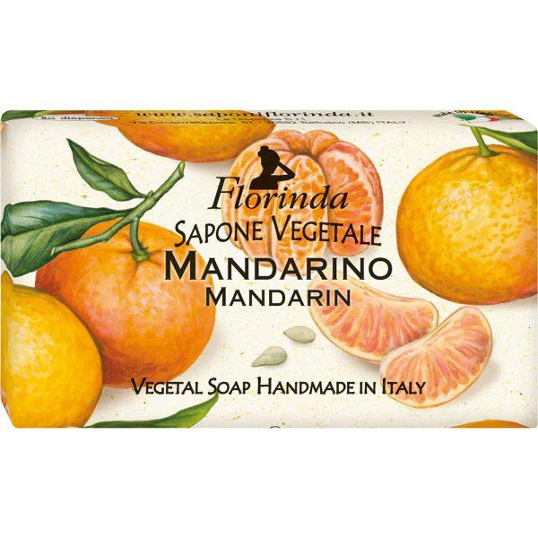 FLORINDA Фруктовая Страсть Мандарин растительное мыло ручной работы 100 г