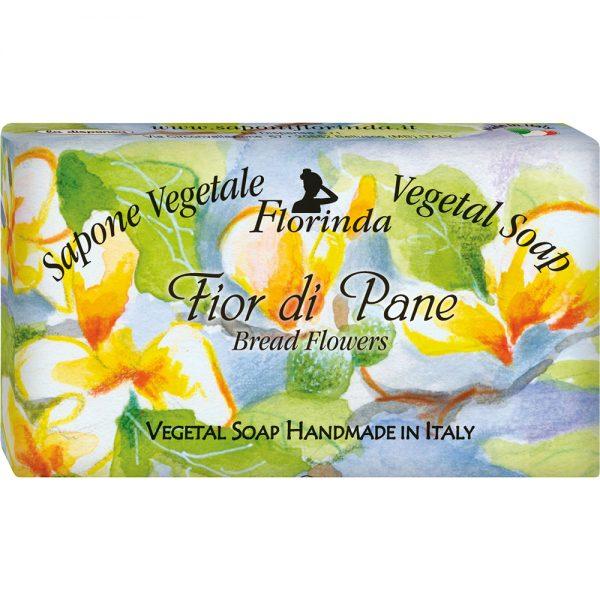 FLORINDA Цветочные Ноты Цветок Хлеба растительное мыло ручной работы 100 г