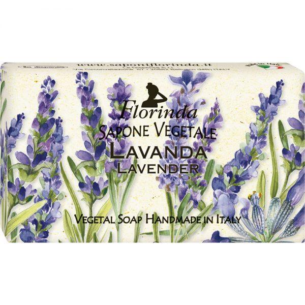 FLORINDA Магия Цветов Лаванда растительное мыло ручной работы 100 г