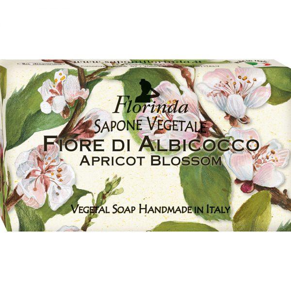 FLORINDA Цветы и Цветы Абрикосовый Цвет растительное мыло ручной работы 100 г