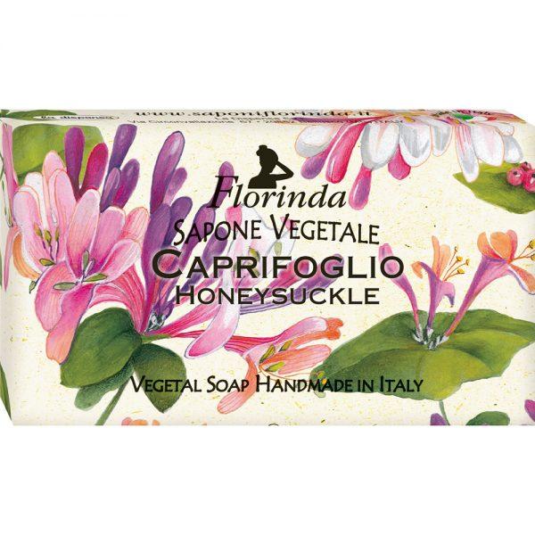 FLORINDA Цветы и Цветы Жимолость растительное мыло ручной работы 100 г