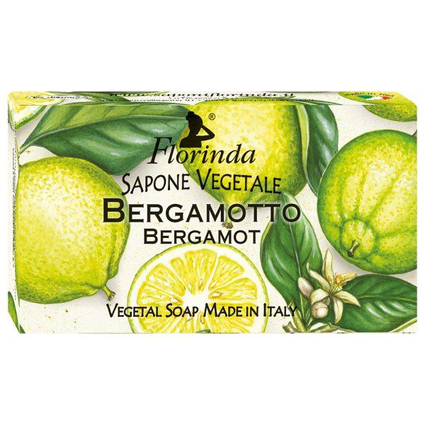 FLORINDA Воздух Осени Бергамот растительное мыло 100 г