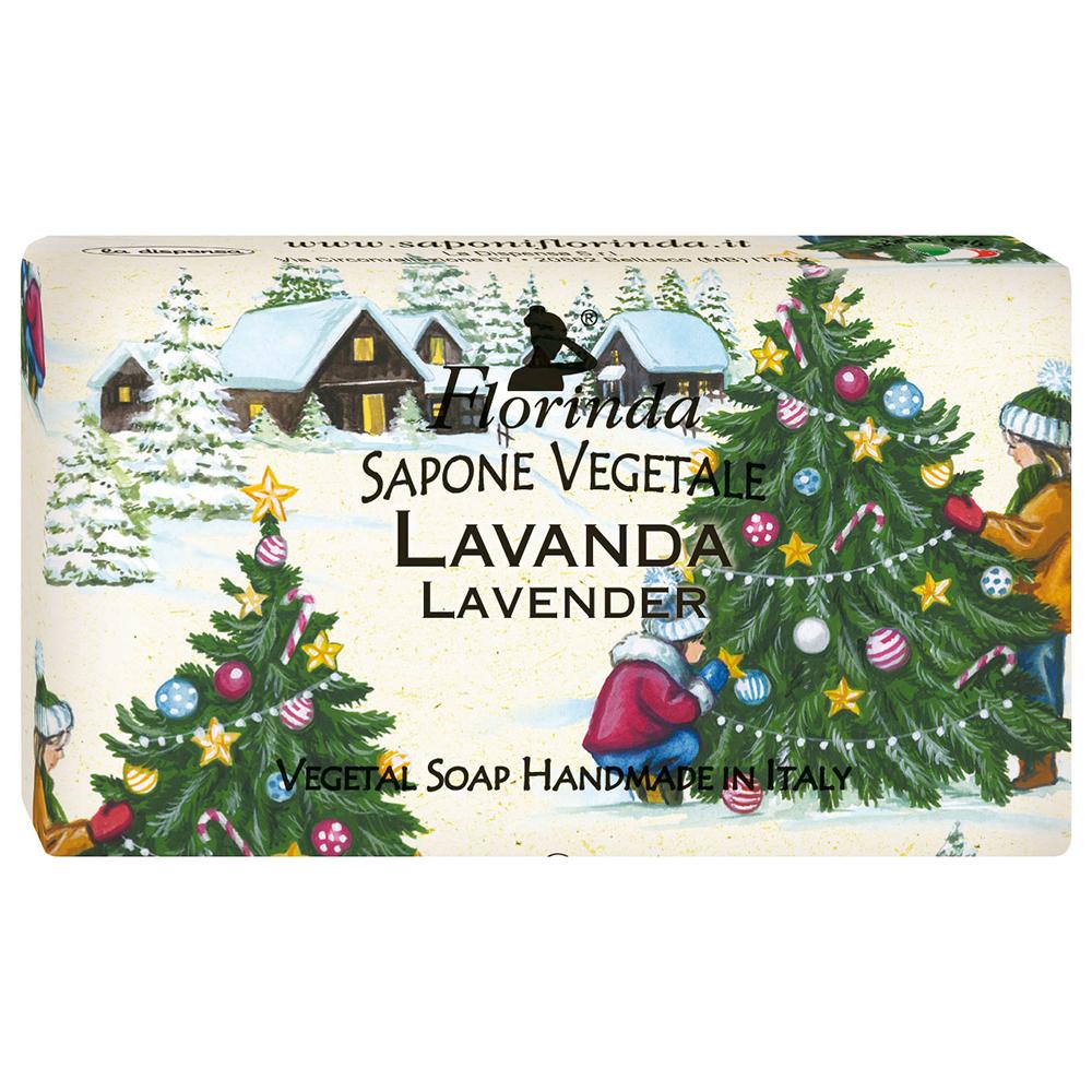 FLORINDA Счастливого Рождества Огни Рождества растительное мыло 100 г