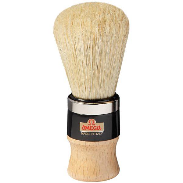 Omega 20102 Professionale Помазок для бритья, щетина кабана, 12,1 см