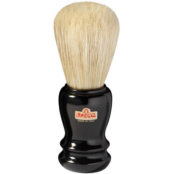20106 Pennello da barba Omega in pura setola – Professionale