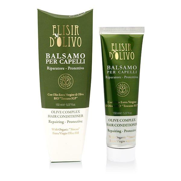 Erbario Toscano Оливковый эликсир бальзам для волос