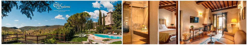 CASTELLO DI SPALTENNA Gaiole in Chianti, Italia. Отели которые уже выбрали косметику Erbario Toscano