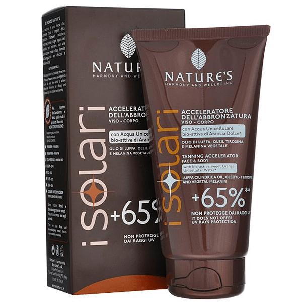 Nature's Крем усилитель загара +65% для лица и тела 150 мл