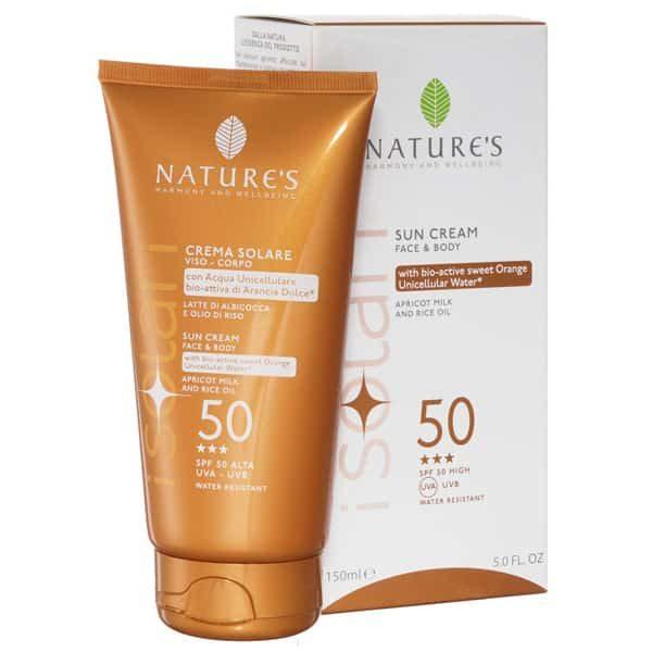 Nature's Крем от солнца для лица и тела SPF-50 150 мл
