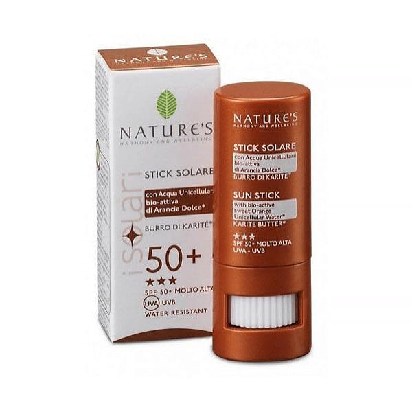 Nature's Защитный стик для губ SPF-50+ 8 мл