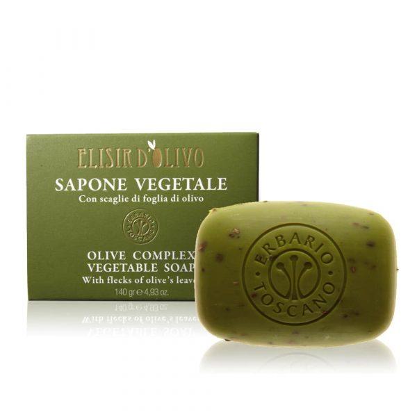 Erbario Toscano Оливковый эликсир мыло