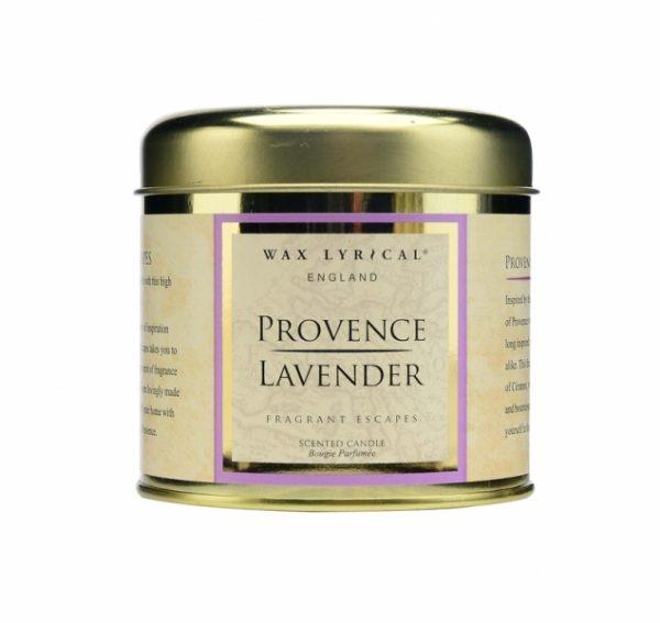 Wax Lyrical Прованская лаванда ароматическая свеча в металле 35 ч