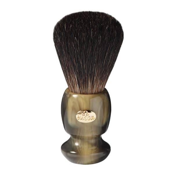 Omega 6223 Помазок для бритья, ворс барсука Black 10,5 см, смола