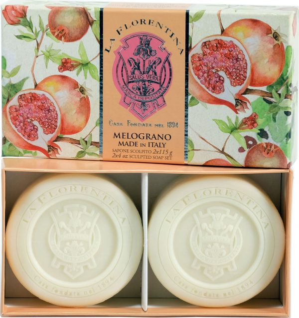 La Florentina Гранат набор мыла 2*115 г