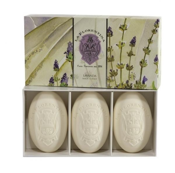 La Florentina Лаванда набор мыла 3*150 г