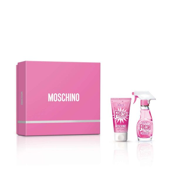 Moschino Fresh Couture Pink подарочный набор: туалетная вода 30 мл, лосьон для тела 50 мл