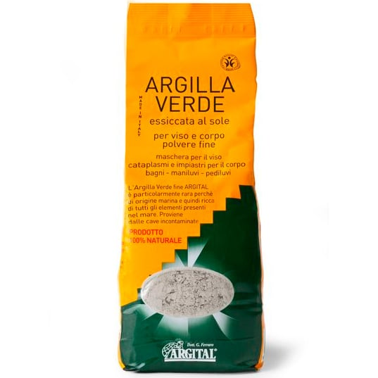 Argital Глина Зеленая для масок и обертываний 2,5 кг