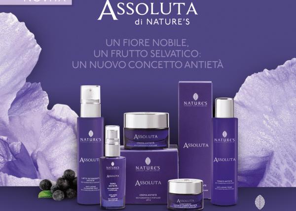 """Narure's """"Assoluta"""" – антивозрастная линия с Ирисом Флорентина и концентратом Myrtilage"""