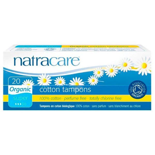 Natracare Тампоны super без аппликатора