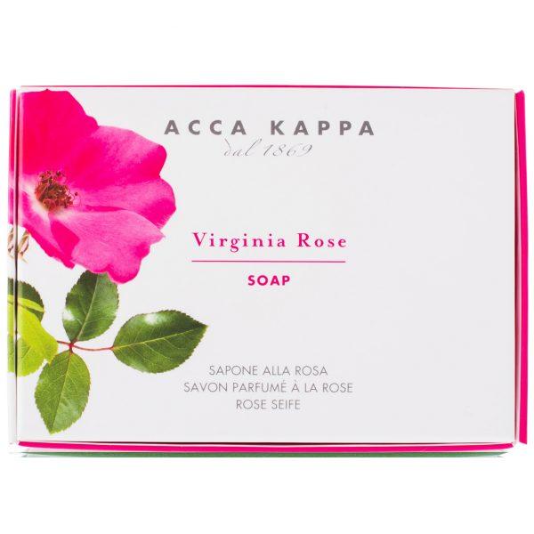 Acca Kappa Virginia Rose мыло туалетное (Роза) 150 г