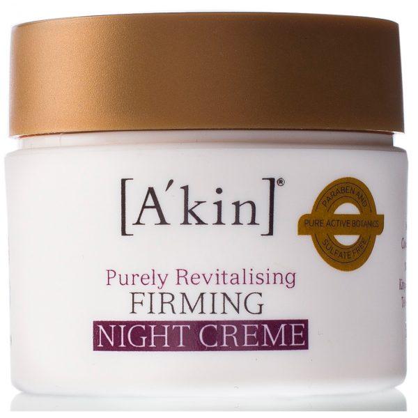 A'kin Восстанавливающий крем для лица укрепляющий ночной 50 мл
