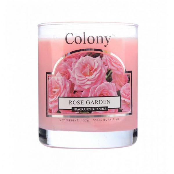 Wax Lyrical Колони Розовый сад свеча ароматическая в стекле