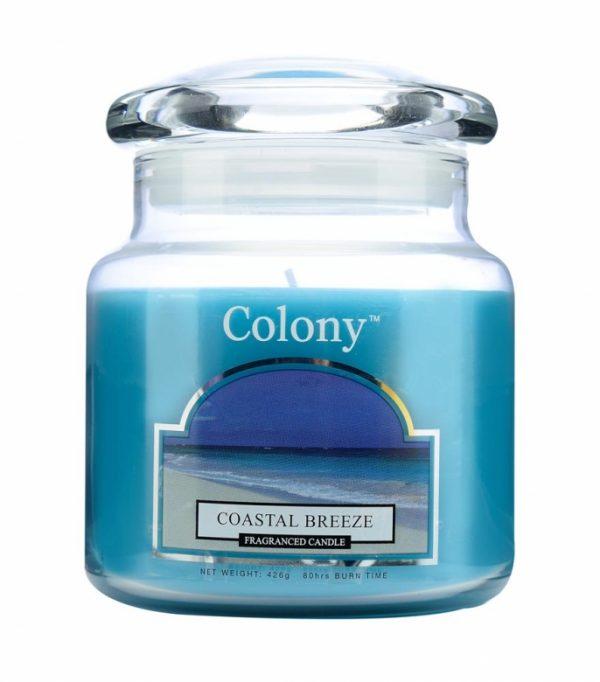 Wax Lyrical Колони Морской бриз свеча ароматическая в стекле