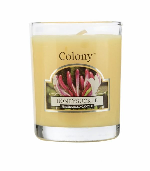 Wax Lyrical Колони Цветущая жимолость свеча ароматическая в стекле