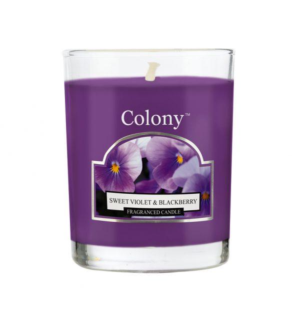 Wax Lyrical Колони Сладкая фиалка свеча ароматическая в стекле