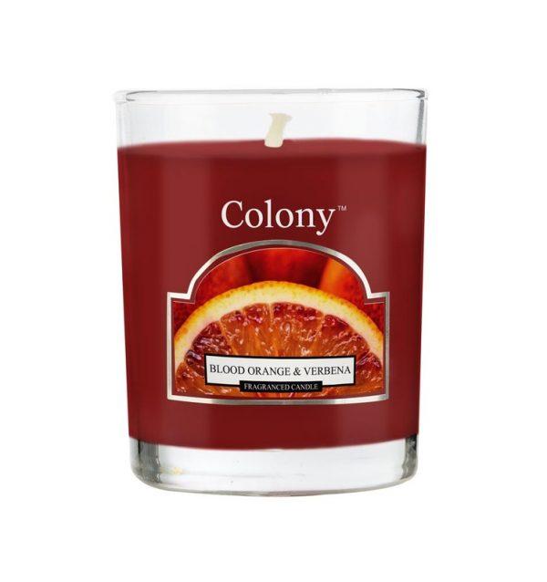 Wax Lyrical Колони Сицилийский апельсин свеча ароматическая в стекле