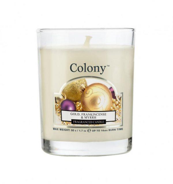 Wax Lyrical Колони Новогодняя карамель свеча ароматическая в стекле