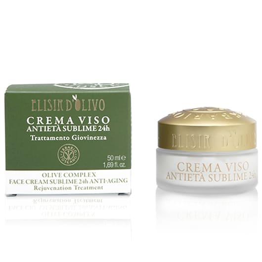 Erbario Toscano Оливковый эликсир антивозрастной крем для лица
