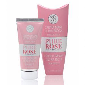 Erbario Toscano Чистая роза увлажняющий крем для рук 3R Biocomplex 100 мл