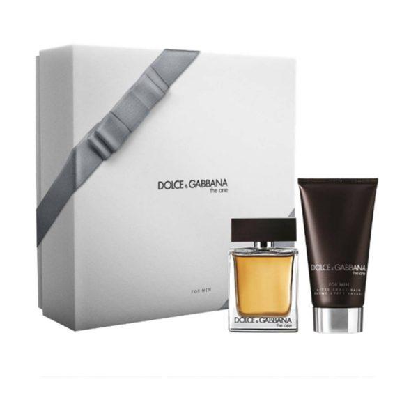 Dolce & Gabbana The One подарочный набор: туалетная вода 50 мл, бальзам после бритья 75 мл