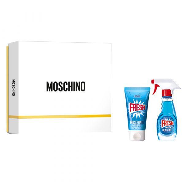 Moschino Fresh Couture подарочный набор: туалетная вода 30 мл, лосьон для тела 50 мл