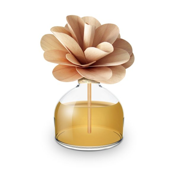 Muha Амбра и ваниль диффузор с цветком