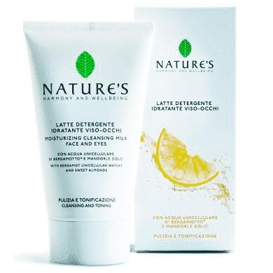 Nature's Молочко увлажняющее очищающее для лица и глаз 150 мл
