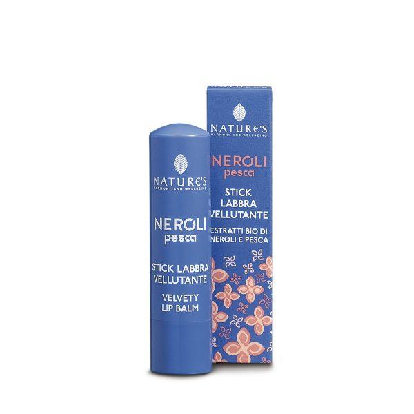 Nature's Нероли и персик бальзам для губ питательный 5,7 мл