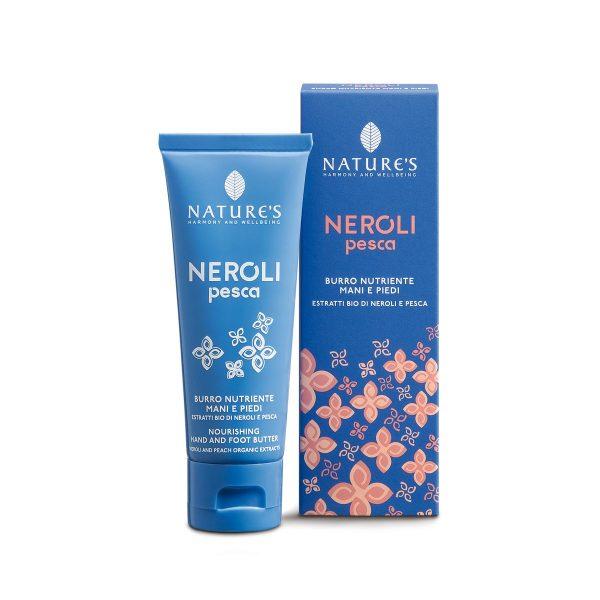 Nature's Нероли и персик крем для рук и ног