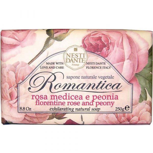"""Nesti Dante мыло """"Флорентийская роза и Пион"""" 250 г"""