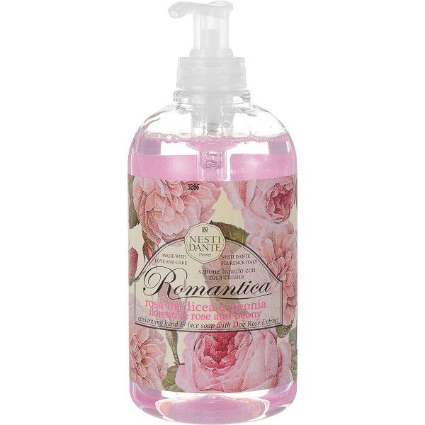 """Nesti Dante """"Флорентийская роза и пион"""" жидкое мыло"""