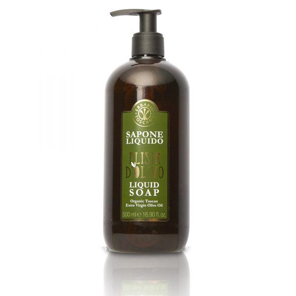 Erbario Toscano Оливковый эликсир жидкое мыло для рук 500 мл