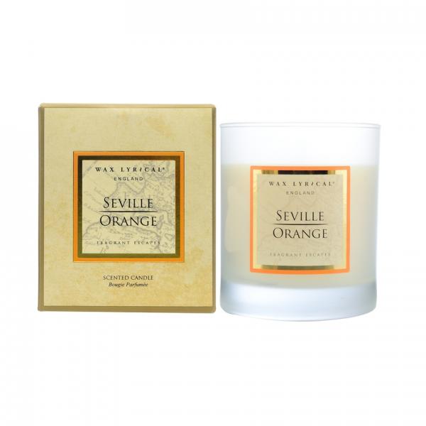 Wax Lyrical Андалузский апельсин свеча в металле 45 ч