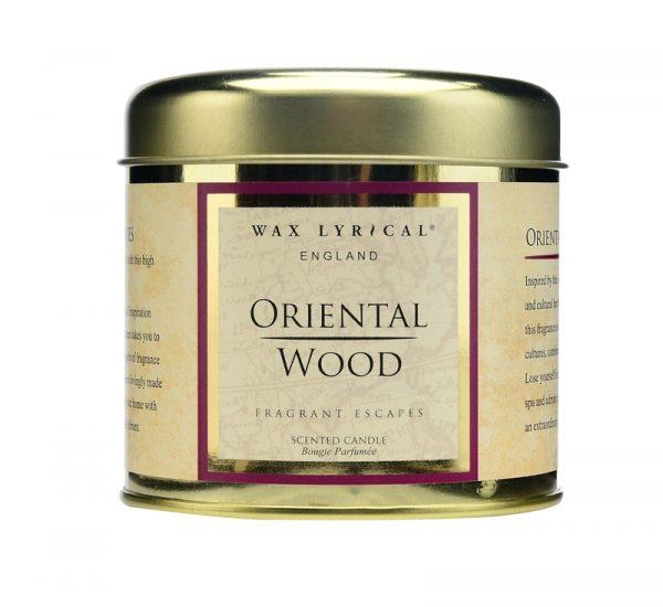 Wax Lyrical Восточное дерево свеча в металле 35 ч