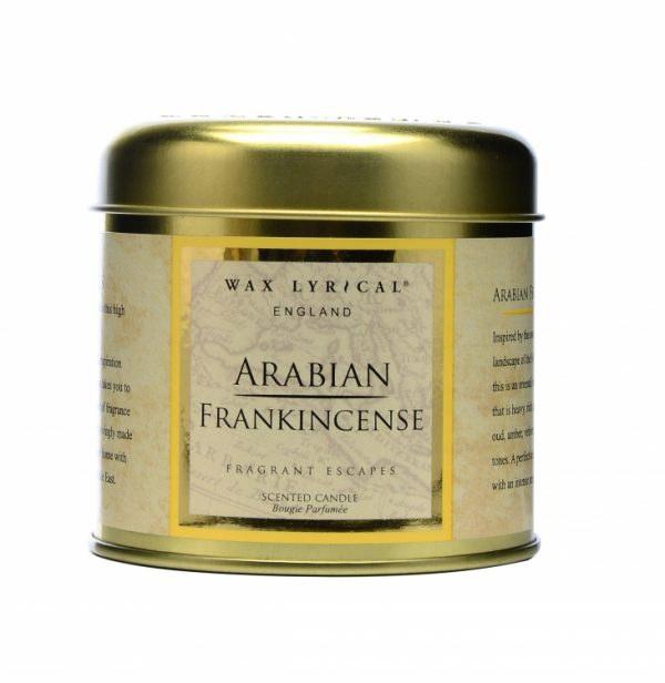 Wax Lyrical Арабский ладан свеча в металле 35 ч