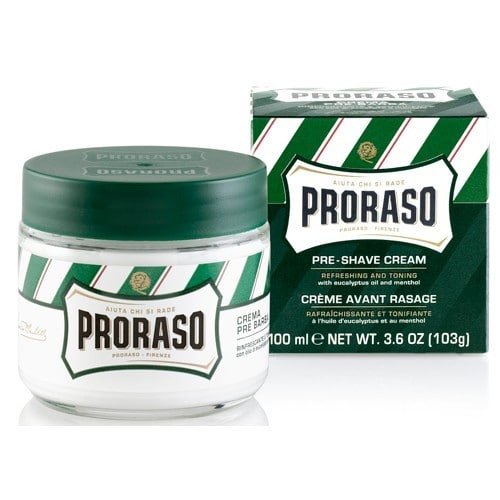 Proraso Linea Verde крем до бритья освежающий 100 мл
