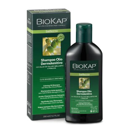 BioKap Шампунь масляный успокаивающий для чувствительной кожи головы 200 мл