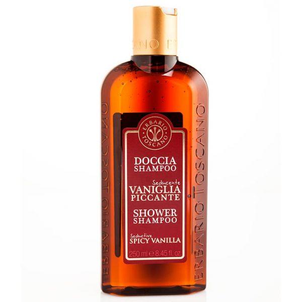 Erbario Toscano Пикантная ваниль шампунь-гель